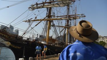 The Sydney Heritage Fleet, the volunteer organisation that operates the tall ship James Craig, is racked with internal strife.