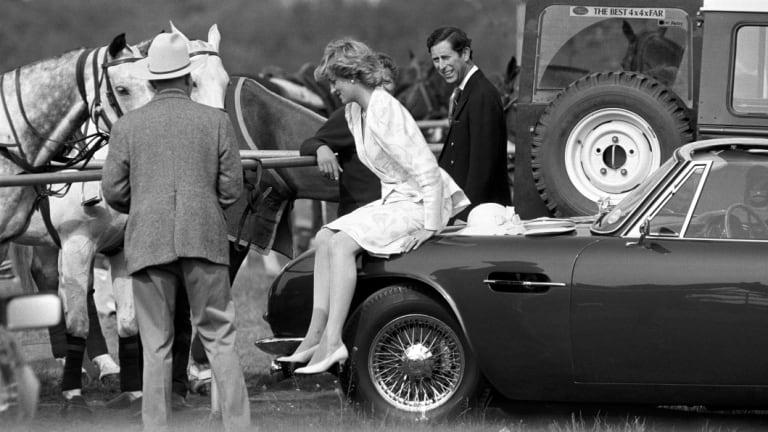 Princess Diana and Prince Charles at Ascot in 1986.