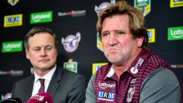 Old habits die hard: Des Hasler is bringing new enthusiasm to the Sea Eagles with a familiar approach.