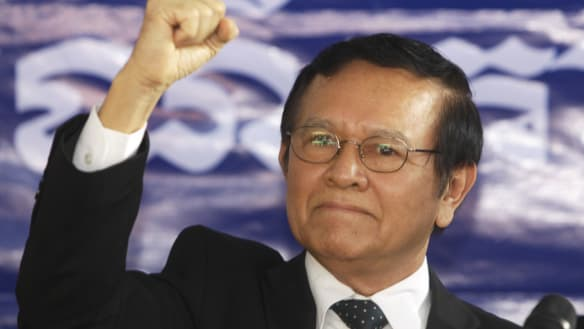 Former Cambodian opposition leader Kem Sokha freed from jail