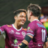 Reds edge closer to home grand final after big win over Rebels