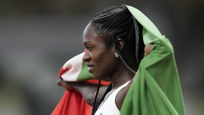 Banned from 400m, Mboma takes silver in 200m, Thompson-Herah gold