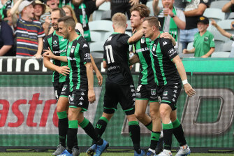Western United are one of three Victorian A-League clubs who were unable to get across the NSW border on Monday night.