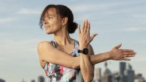 Go1 group general counsel Veronique Diallo quit the media industry and created better exercise and eating routines.
