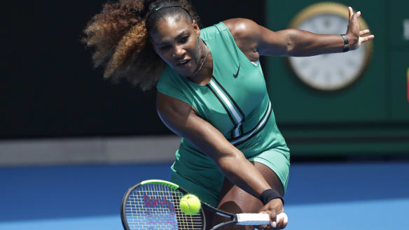 Serena Williams debuts '90s-inspired Australian Open uniform