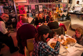 Brunswick street cafes come and go, but Marios, thankfully, lives on