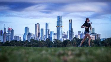 Melbourne's CBD office vacancy rates have hit 8.2 per cent.