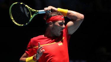 Rafael Nadal has been in sensational form.