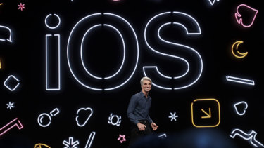 """In its new operating system iOS 13, the company is introducing """"Sign in with Apple""""."""
