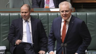 Treasurer Josh Frydenberg and Prime Minister Scott Morrison have both attacked Queensland and WA over the national plan to open up.