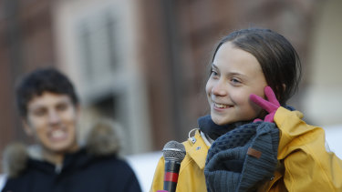 Swedish climate change activist Greta Thunberg started the school strike for climate change movement.