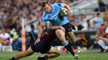 Call-up: Cameron Clark was invited into Wallabies camp on Sunday.