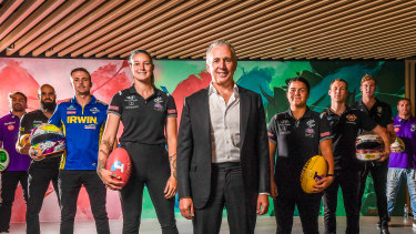 Telstra CEO Andy Penn announced a major shift to the telco's sports strategy
