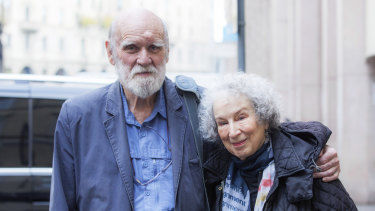 Margaret Atwood and Graeme Gibson, pictured in 2017, returned to Australia for a final visit together in February.
