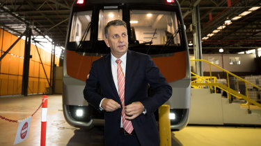Transport Minister Andrew Constance says the growth in demand is exploding.