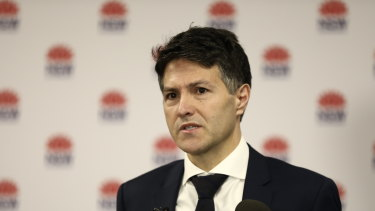 Customer Service Minister Victor Dominello said the portal was designed to reboot trust in the planning system.