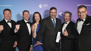 Penten's team at the Telstra Business Awards.