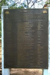 A plaque at the Dunwich cemetery carries the names of those on board the ship who died, either during its voyage or while in quarantine.