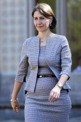 In her stride: Gladys Berejiklian has a mandate to run the NSW government in her own right.