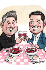 Mike Sneesby and Karl Stefanovic.