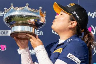 South Korea's Inbee Park won this year's Women's Australian Open.