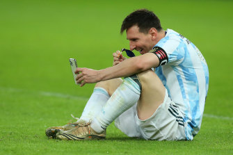 Messi finally won a maiden international trophy with Argentina with the 1-0 win.