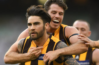 """Ben Stratton says Chad Wingard has the Hawks' support """"100 per cent""""."""