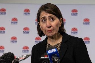 NSW Premier Gladys Berejiklian will bill rival states over hotel quarantining arrangements.