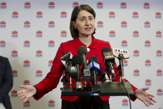Premier Gladys Berejiklian has announced the border with Victoria will reopen on November 23.