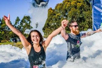 5k Foam Fest.