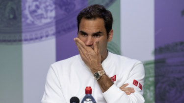 Roger Federer conceded he had missed an enormous opportunity in his agonising defeat to Novak Djokovic.