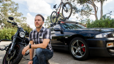Jason Tankard, who runs Printing by Tank - Design Print Canberra and Health With Tank, has been unable to afford the second car he and his family need because of the costs involved in running one, particularly around petrol.