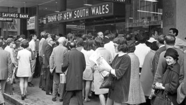 Banks were once told people like queues as long as they move.