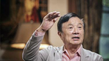 Huawei founder Ren Zhengfei.
