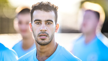 Araibi hopes to play in the A-League some day.