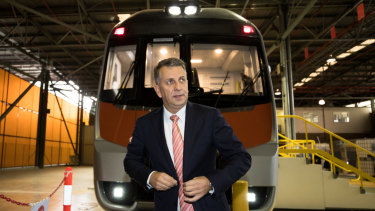 NSW Transport Minister Andrew Constance.