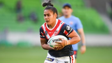 """""""There's bits of our game we all need to work on"""": Simaima Taufa."""
