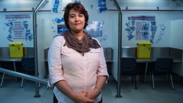 Dr Marianne Jauncey, the medical director of the Kings Cross Medically Supervised Injecting Centre.