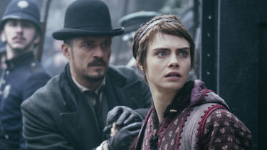 No fairytale: Cara Delevingne and Orlando Bloom new show a