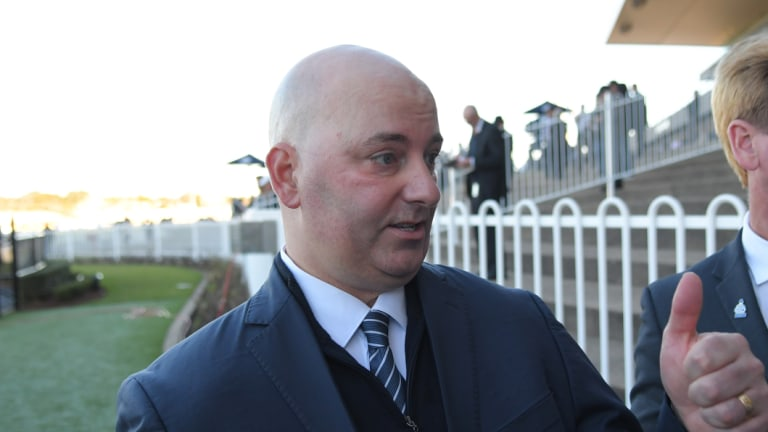 Thumbs up: John Thompson believes he has found the right rider for Thy Kingdom in Linda Meech