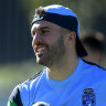Still the No.1 ... James Tedesco remains in another class to Queensland opposite Kalyn Ponga