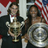 Wimbledon without Serena, Roger? Get off the grass