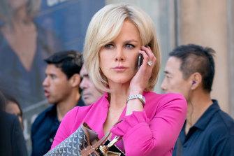 Nicole Kidman as Gretchen Carlson – the veteran presenter who took on Fox.