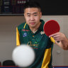 Ma Lin lost his arm in a bear attack. He has now made table tennis his domain
