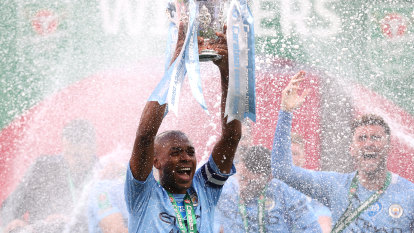 Manchester City beat Spurs to claim fourth successive League Cup win
