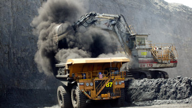 The economic update has slashed coal price forecasts.