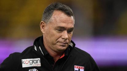 Richardson pots umpires as end nears for Saints coach