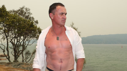 Shannon Noll still feels the pain from Dancing with the Stars back crack