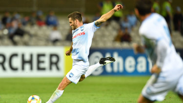 Wanted man: Sydney FC midfielder Josh Brillante