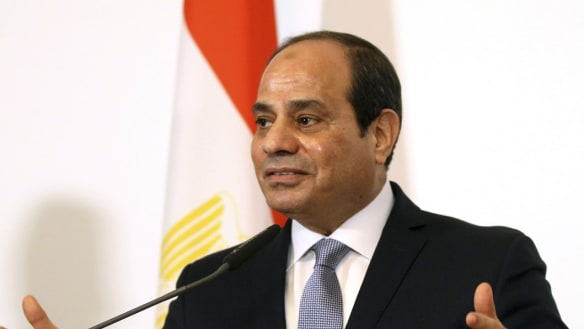 El-Sisi says Egypt and Israel co-operate against ISIS in Sinai
